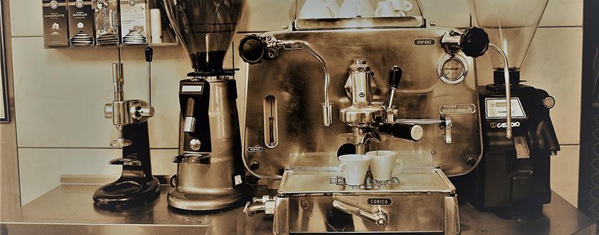 Salcher Kaffee alte Maschine